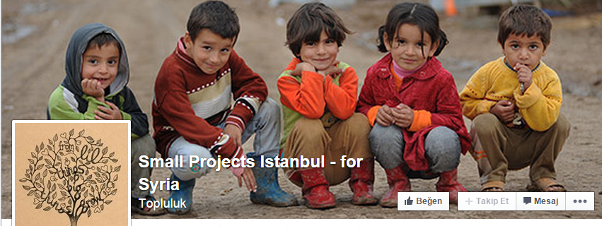 small Projects Istanbul - for Syria
