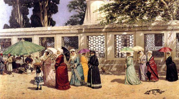 13. Türk Resminde İlk Figürlü Kompozisyon