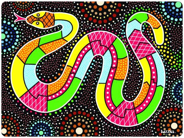 AboriginalSnakeTuzzles