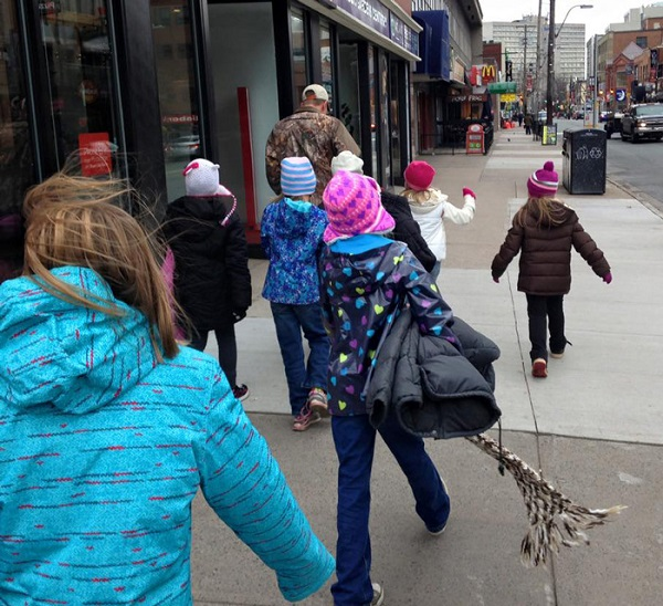 children-donate-warm-clothes-homeless-winter-canad