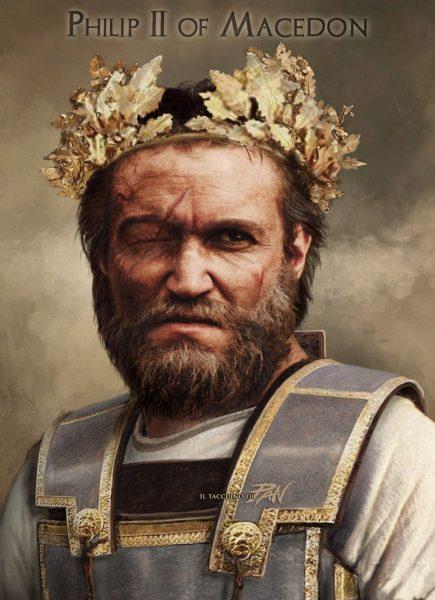 makedonya krali II. Philippos 1