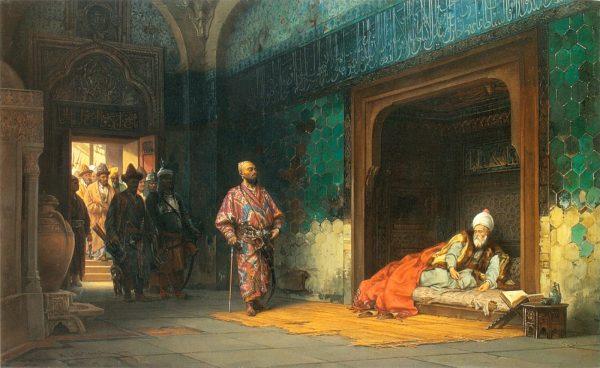 osmanli sultani yildirim bayezid ve timur 1402