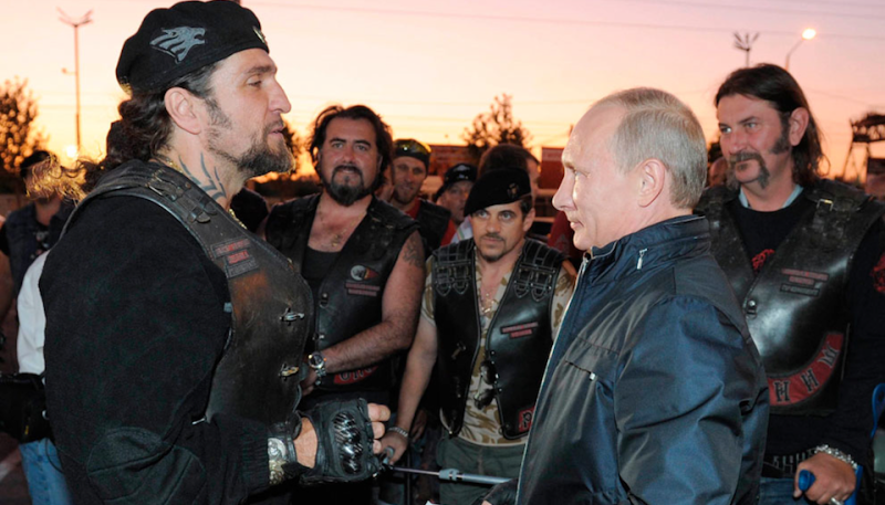 ride-bike-putin-gang