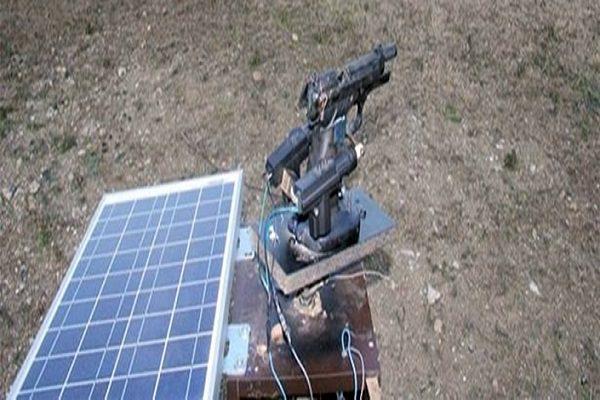 gunes enerjisiyle calisan silah