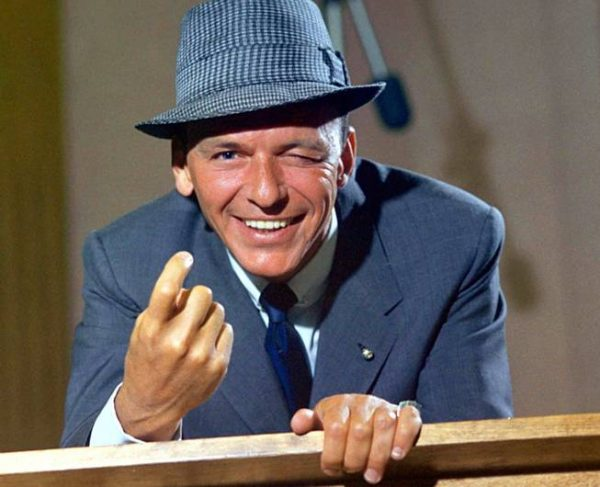"Frank Sinatra 1959 ""Come Dance With Me"" Capitol Records © 1978 Sid Avery"
