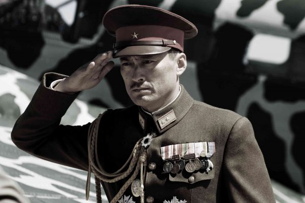 "KEN WATANABE as General Kuribayashi in Warner Bros. Pictures' and DreamWorks Pictures' World War II drama ""Letters from Iwo Jima,"" directed by Clint Eastwood. PHOTOGRAPHS TO BE USED SOLELY FOR ADVERTISING, PROMOTION, PUBLICITY OR REVIEWS OF THIS SPECIFIC MOTION PICTURE AND TO REMAIN THE PROPERTY OF THE STUDIO. NOT FOR SALE OR REDISTRIBUTION."