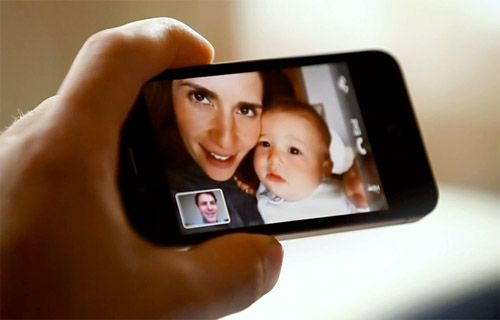 iPhone 4G De Görüntülü Konu?ma