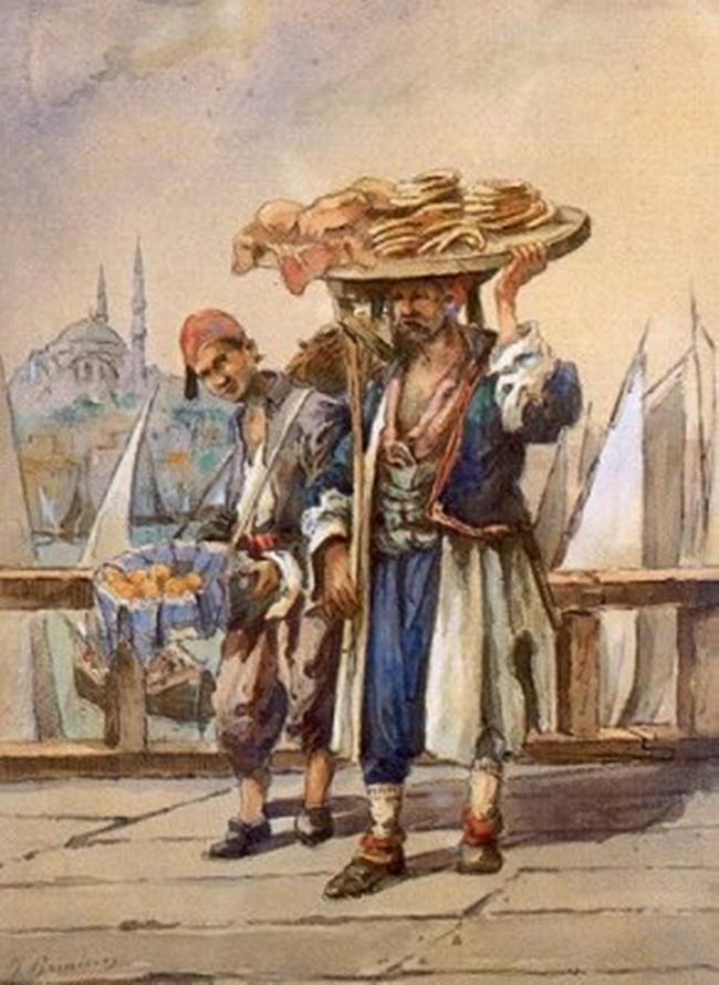 Simit_sellers istanbul