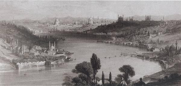loti15.  Sana dün bir tepeden baktım aziz İstanbul