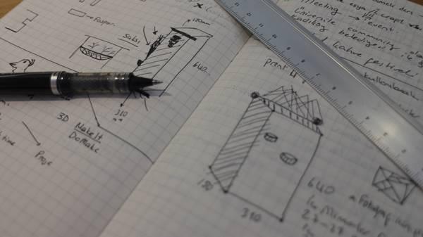 saksi1 Proje kağıt üzerinde çizildi2