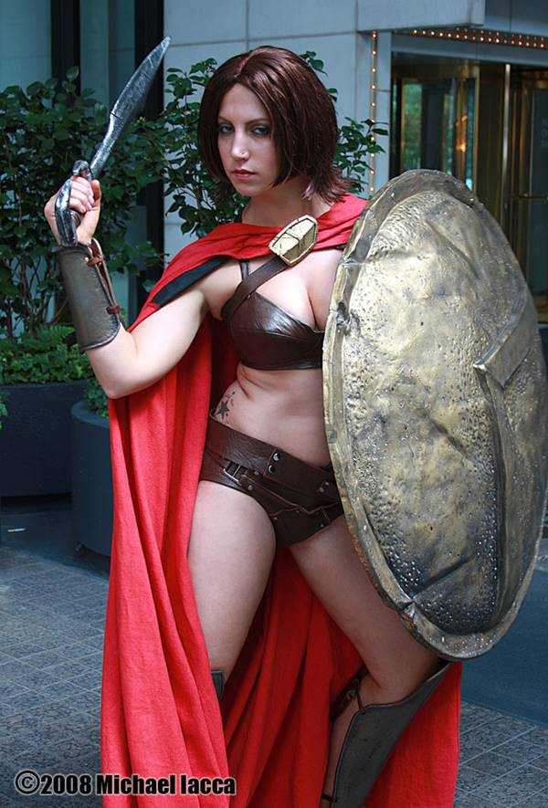 vov7. Sparta kadınları savas tatbikatlari