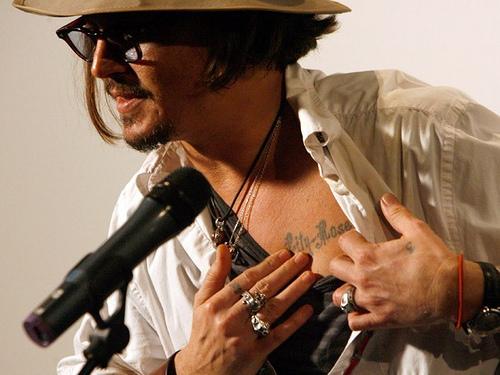 Johnny-Depps-dövme