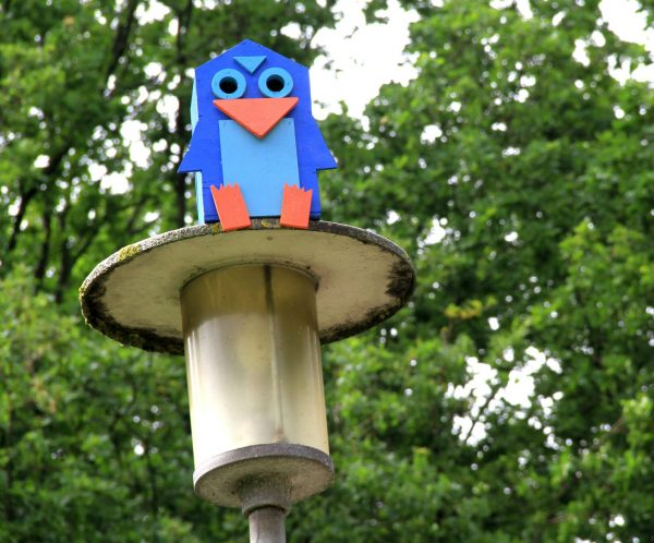 blue-birdhouse