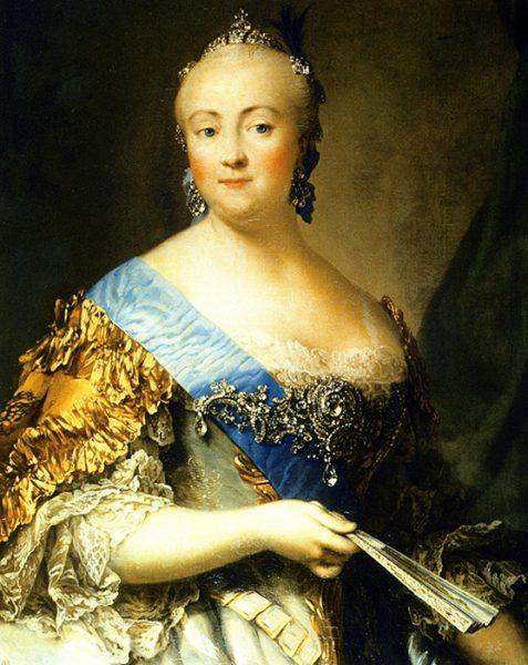 Rusya-İmparatorice-Elizabeth