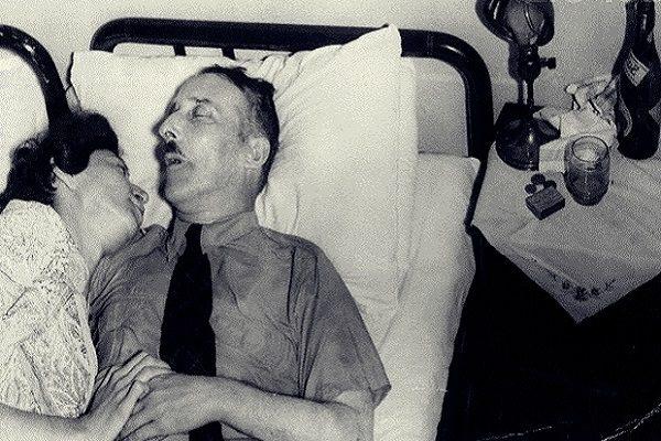 Stefan Zweig Lying Dead