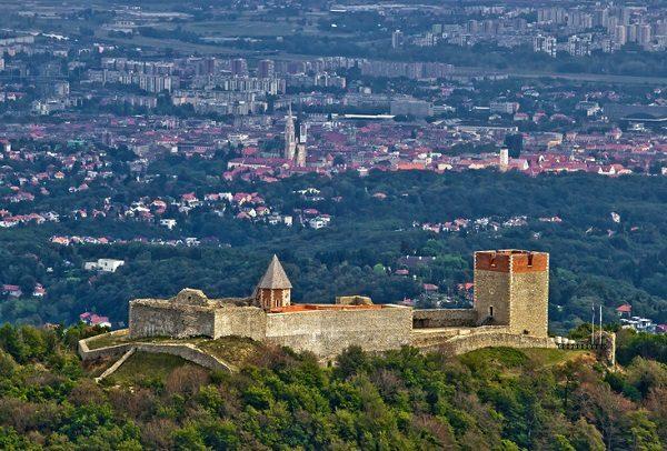 Amazing Medvedgrad castle & Croatian capital Zagreb