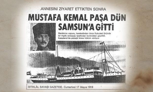Bandirma Vapuru Ve Ataturk Un Genclige Hitabesi Ile 19 Mayis I