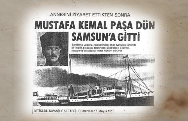 Bandırma Vapuru Ve Atatürkün Gençliğe Hitabesi Ile 19 Mayısı
