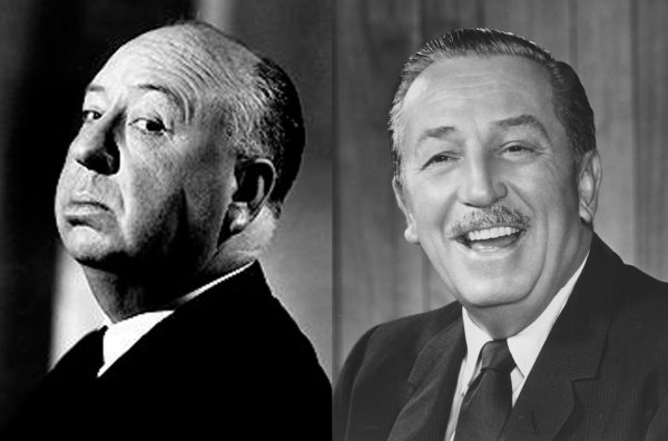 Alfred-Hitchcock-Walt-Disney