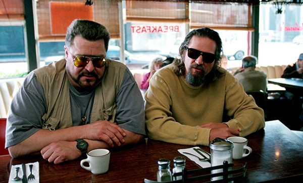 THE BIG LEBOWSKI, John Goodman, Jeff Bridges, 1998, (c) Gramercy Pictures/courtesy Everett Collection