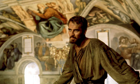 Charlton Heston in The Agony and the Ecstasy