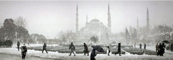 Kışın Sultanahmet Meydanı