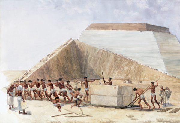 19. piramitleri koleler insa etmedi