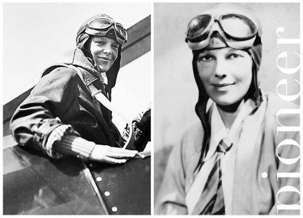 Amelia-Earhart-ilkler