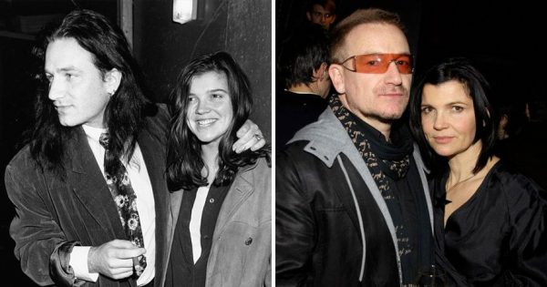 Bono And Alison Hewson - 41 Year Together