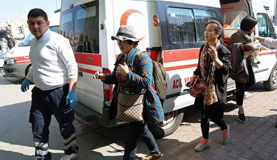acil servis turist