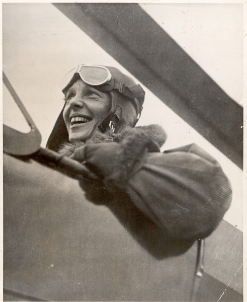 UNITED STATES - DECEMBER 15:  Aviatrix Amelia Earhart in cockpit of plane.  (Photo by The LIFE Picture Collection/Getty Images)