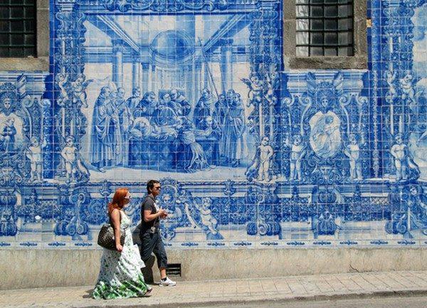 azulejo sokak portekiz