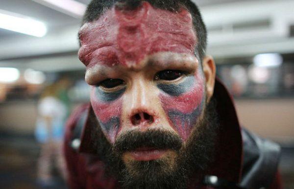 henry damon red skull kapak