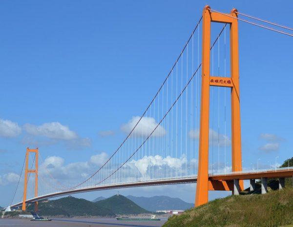 002 Xihoumen Bridge