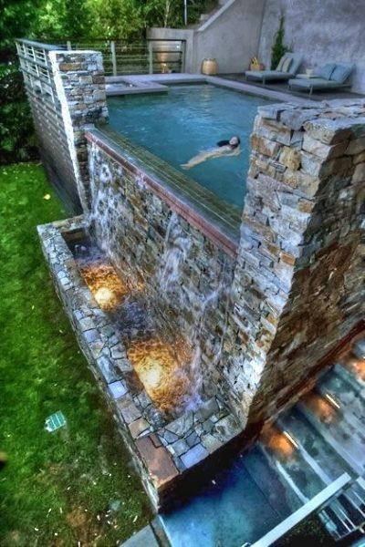 018arka bahçe havuz