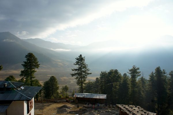 02The Phobjikha Valley in Bhutan