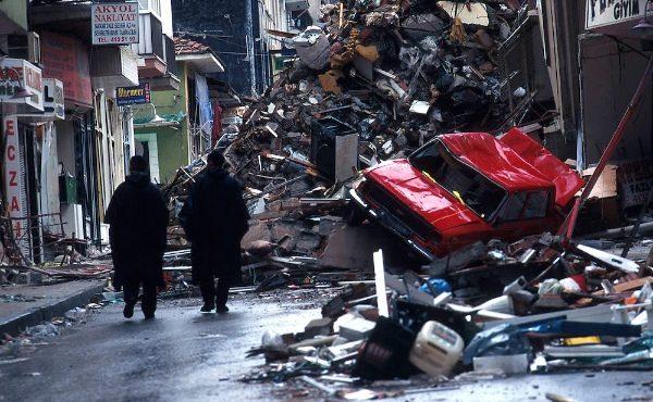 Earthquake in Turkey. 1999.