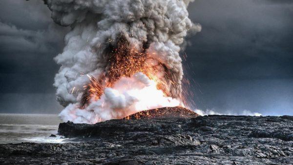 22 Vezüv yanardağ patlaması