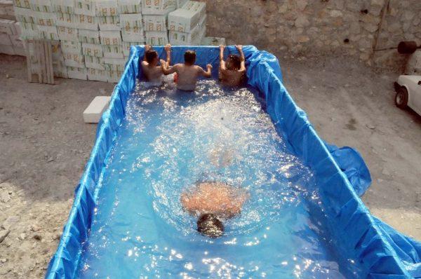 kamyon kasası havuz
