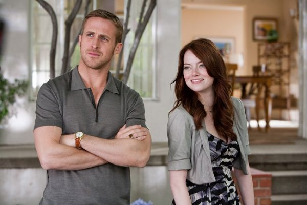 "(L-r) RYAN GOSLING as Jacob and EMMA STONE as Hannah in Warner Bros. Pictures' comedy ""CRAZY, STUPID, LOVE."" a Warner Bros. Pictures release."