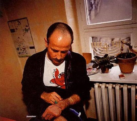 nan-goldin-piotr-with-his-aids-medication