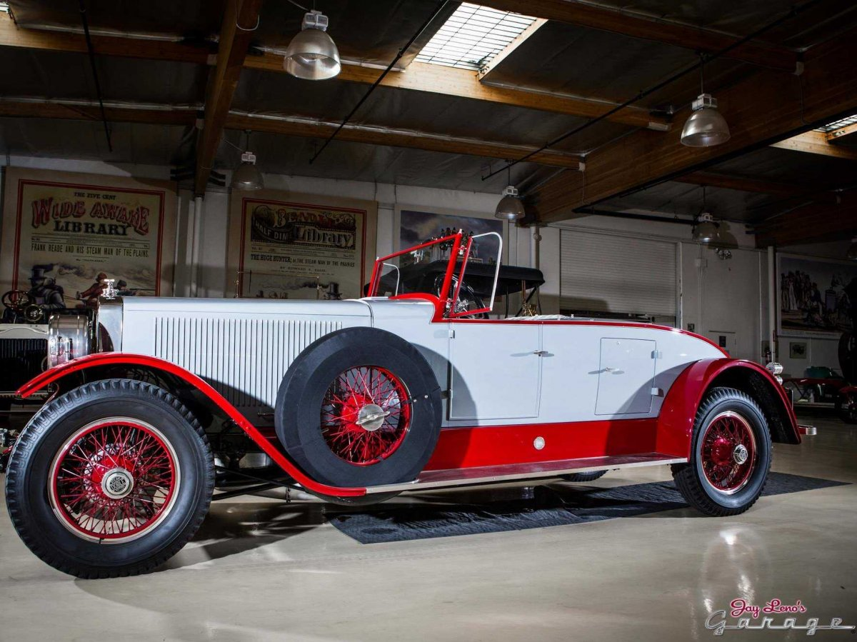 1925 Doble Steam Car