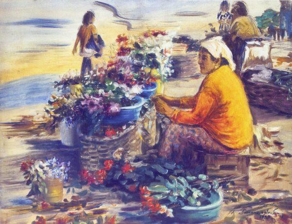 9. Sandıklı Pazarındaki Çingene Kadın