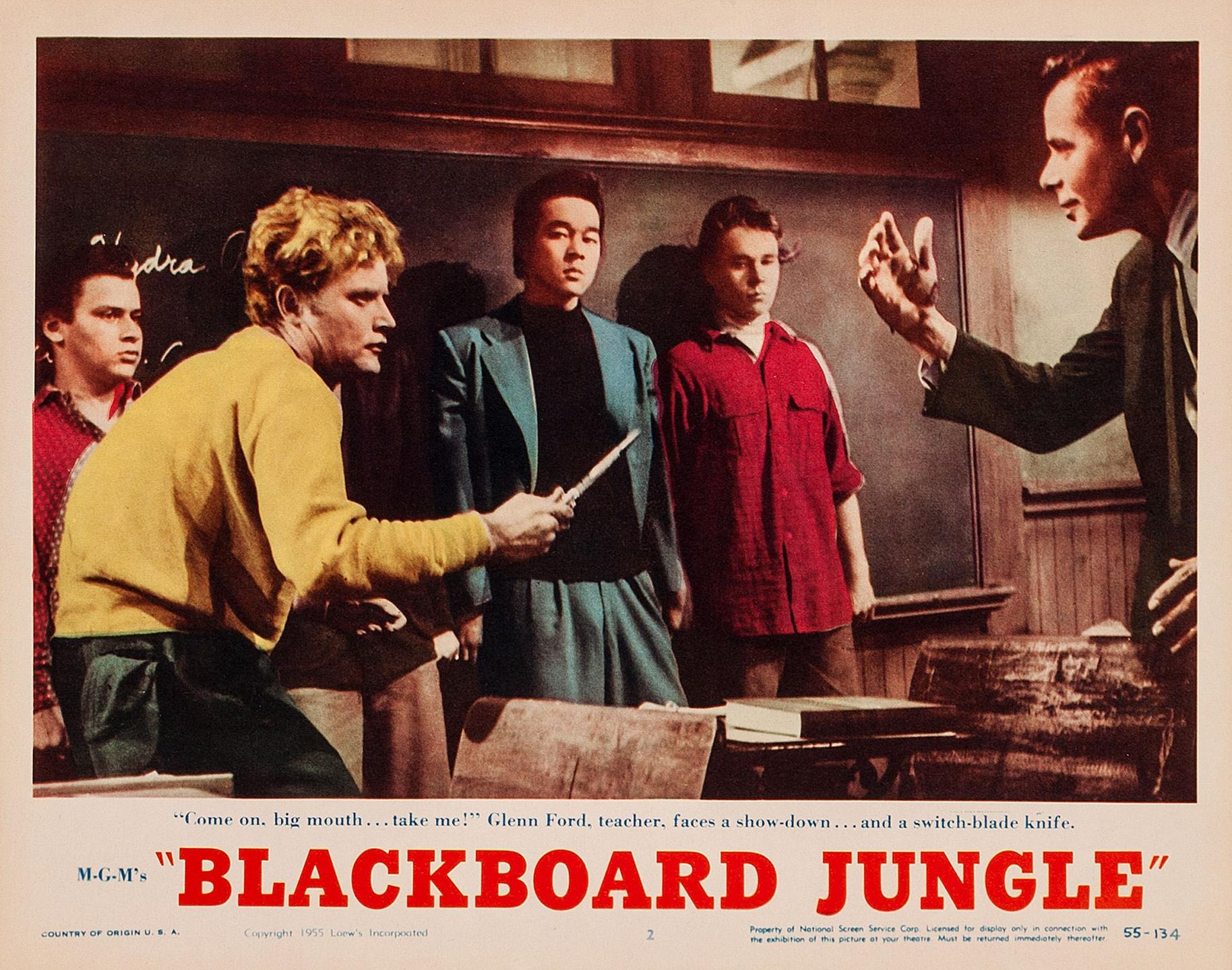 Poster - Blackboard Jungle_04