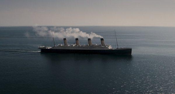 Titanic (JFellows 2012) - Exterior of Titanic at sea © 2012 ITV / Lookout Point, Photo Courtesy of ABC