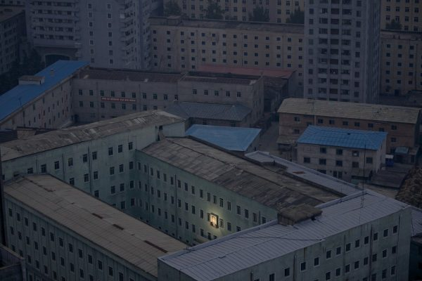 north-korea-doesnt-have-enough-of-its-own-electricity-so-at-night-the-entire-country-goes-pitch-black-what-little-remains-goes-toward-illuminating-a-picture-of-the-countrys-founder-kim-il-sung