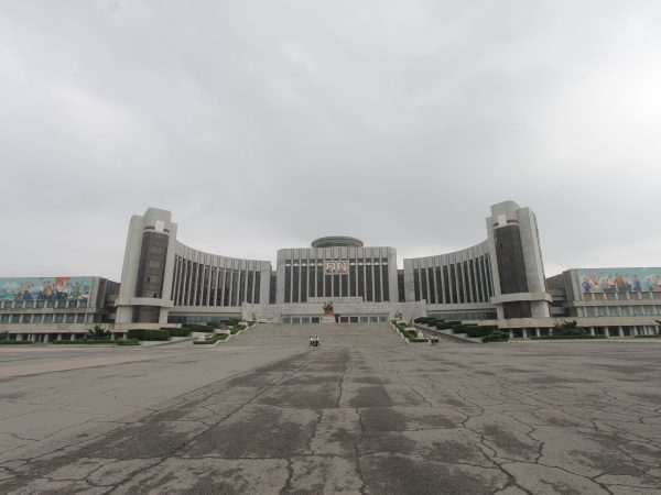 some-of-north-koreas-most-impressive-and-intimidating-architecture-lives-in-the-city-center-such-as-the-sprawling-manyongdae-childrens-palace-it-features-two-arms-meant-to-imitate-a-mothers-embrace