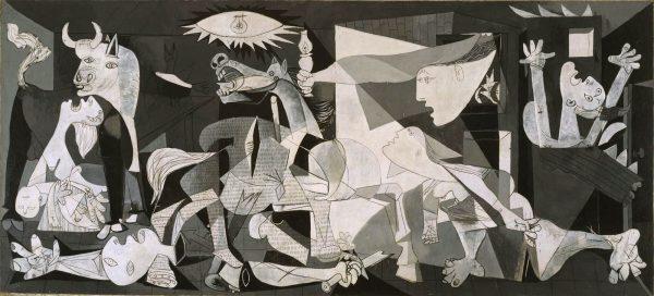13. Picasso'nun Guernica'sı