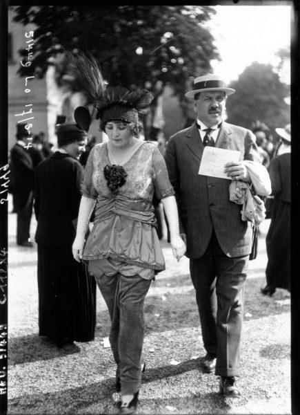 1914 Royalty from Denmark