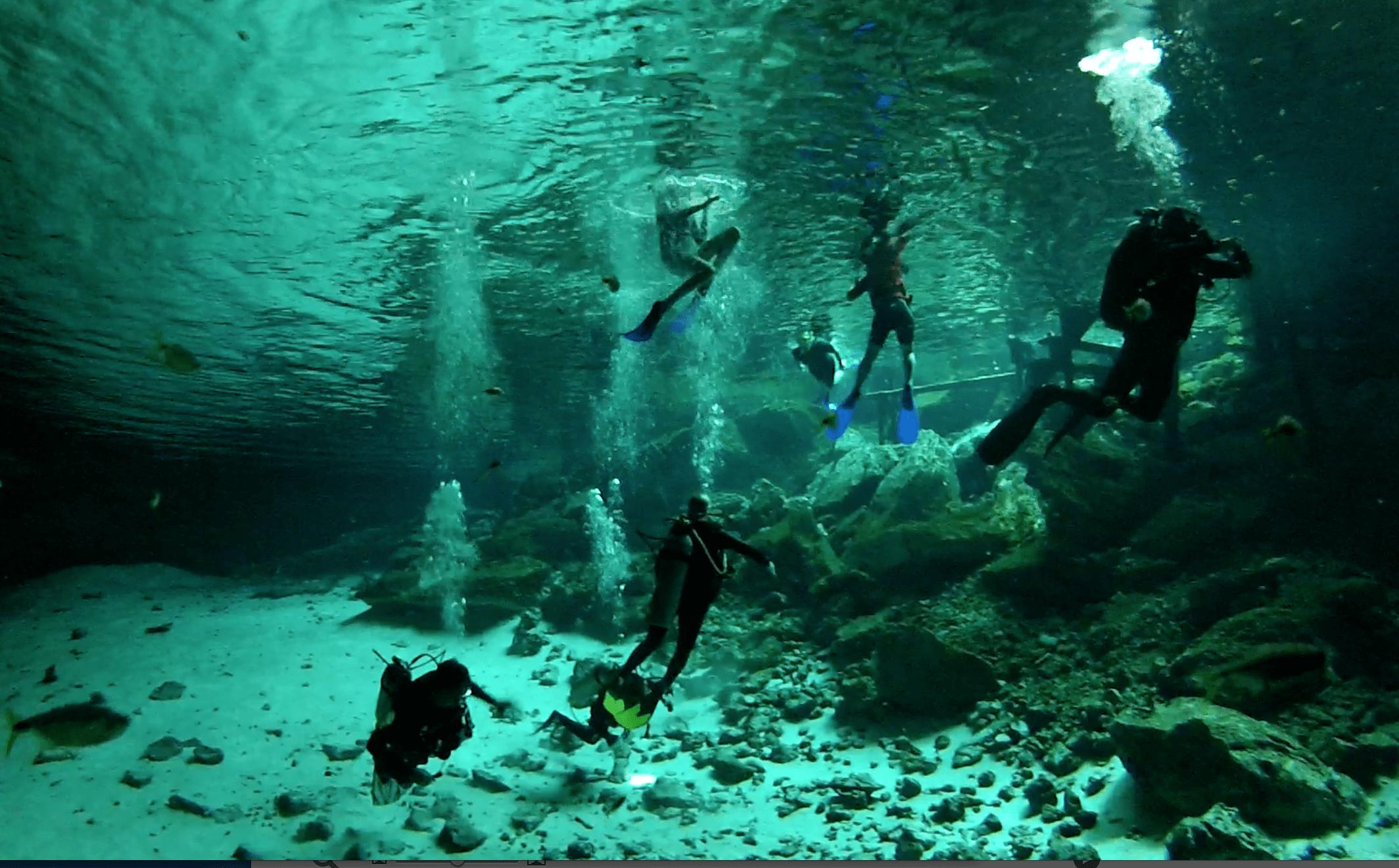 Cenotes Dos Ojos, Tulum, Mexico